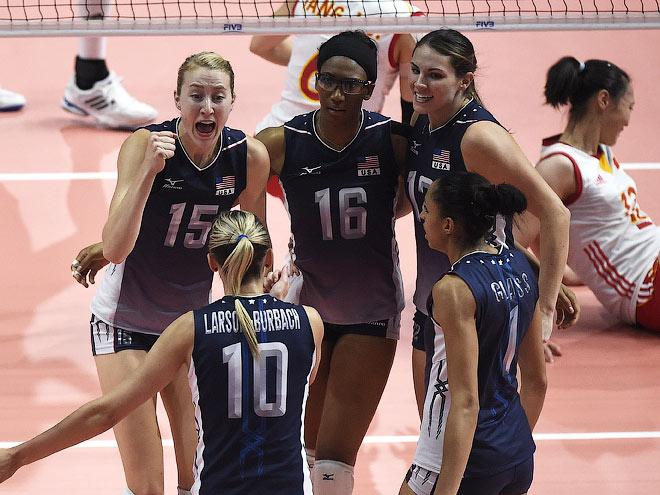 Волейбол. Женщины. Сборная США - чемпион мира