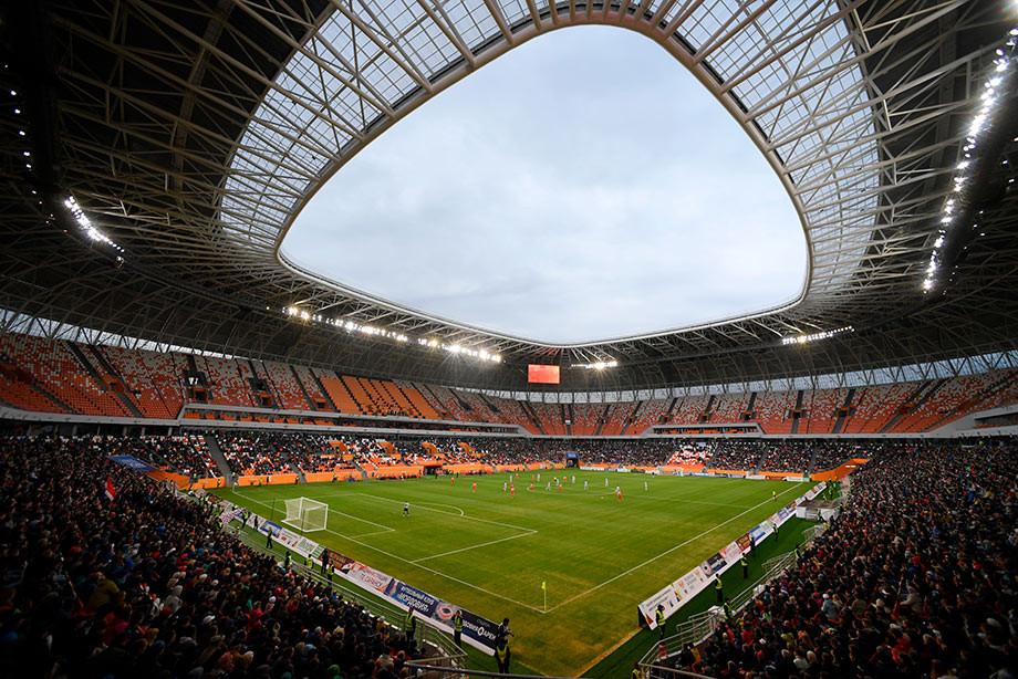 «Мордовия» преждевременно вышла вФНЛ, заодно обновив рекорд посещаемости матча ПФЛ
