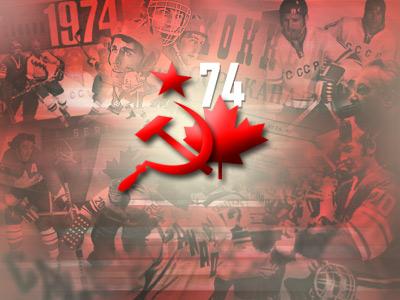 В Канаде сборные сыграли вничью, затем состоялись матчи в СССР