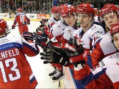 Сборная России (U20) выиграла Суперсерию-2012