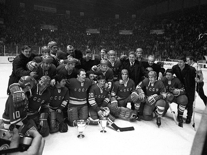 Всё золото нашего хоккея. Чемпионат мира – 1970