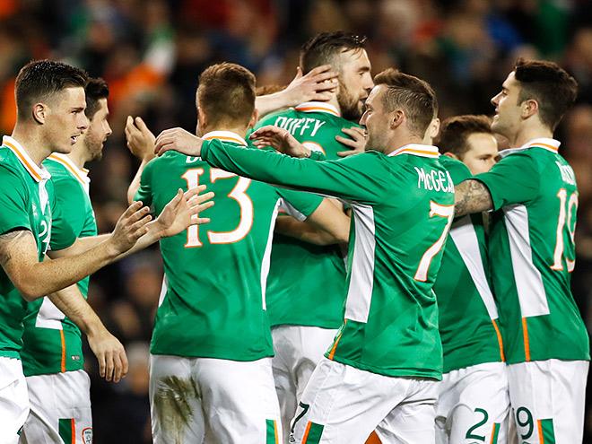 Сборная Ирландии на чемпионате Европы-2016
