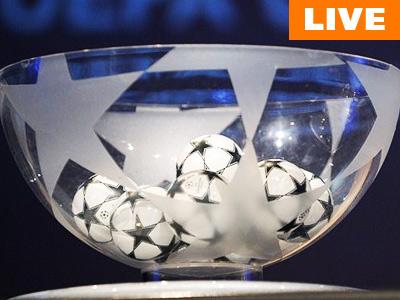 Текстовая онлайн-трансляция жеребьёвки Лиги чемпионов