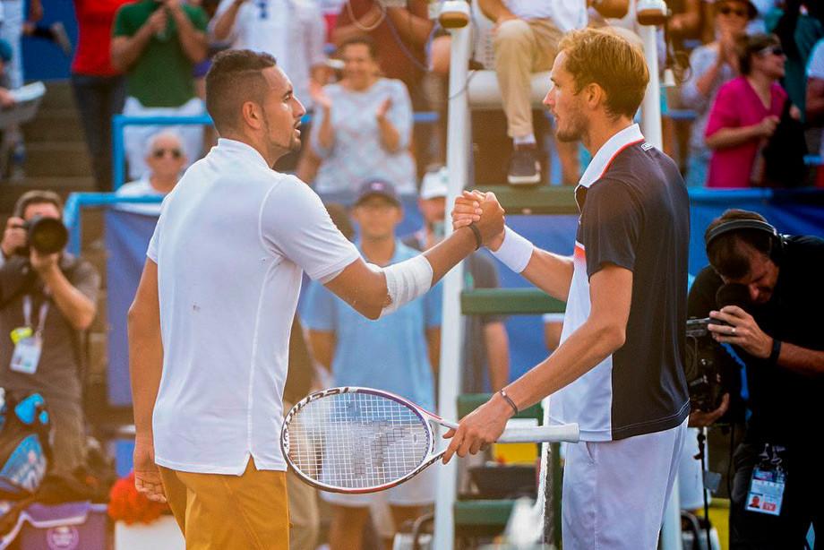 Даниил Медведев проиграл Нику Кирьосу в финале турнира ATP 500 в Вашингтоне