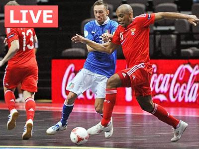 Россия пробилась в полуфинал мини-футбольного Евро