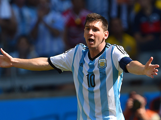 ЧМ-2014. Лео Месси принёс Аргентине победу