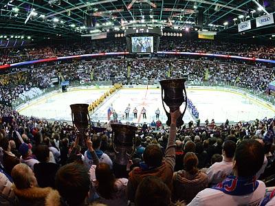 По посещаемости арен КХЛ – третья в Европе