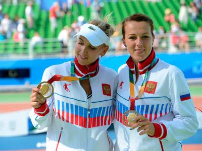 Елена Веснина и Анастасия Павлюченкова