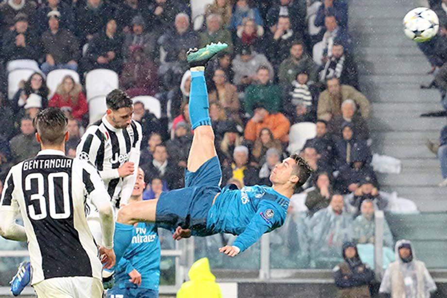 Роналду сказал, что свой лучший гол забил «Ювентусу»