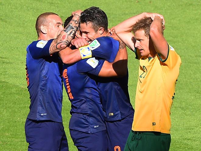Австралия — Нидерланды — 2:3