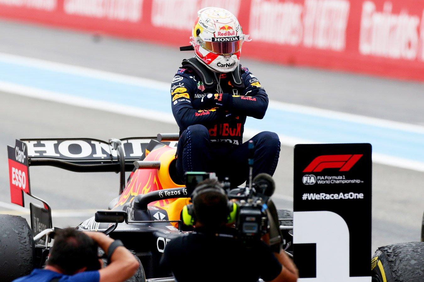 Ферстаппен выиграл Гран-при Франции