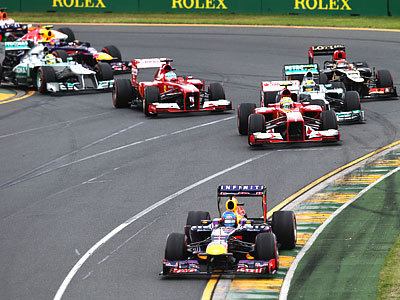 Анализ выступления команд Формулы-1 в Австралии