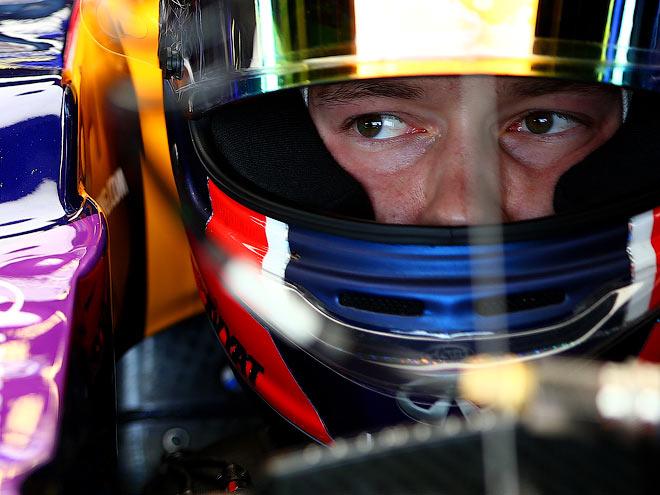 Даниил Квят на Гран-при Великобритании-2015