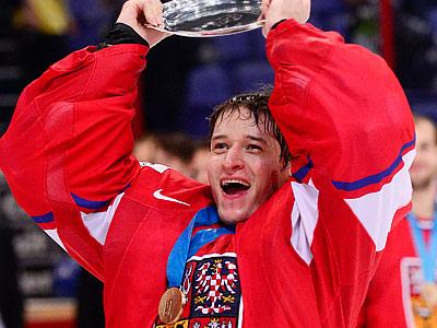 Якуб Штепанек - о бронзовых медалях чемпионата мира