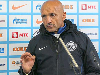 Пресс-конференция Лучано Спаллетти перед матчем с «Локомотивом»