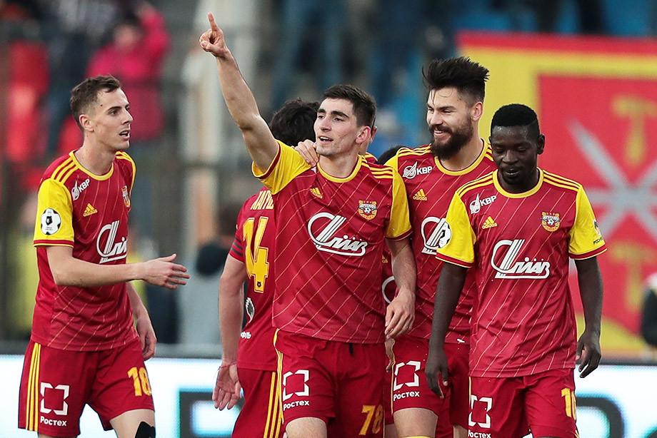 «Арсенал» — «Локомотив» — 2:0.