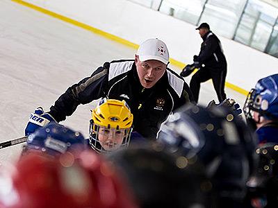 О сборе «Русской школы хоккея»