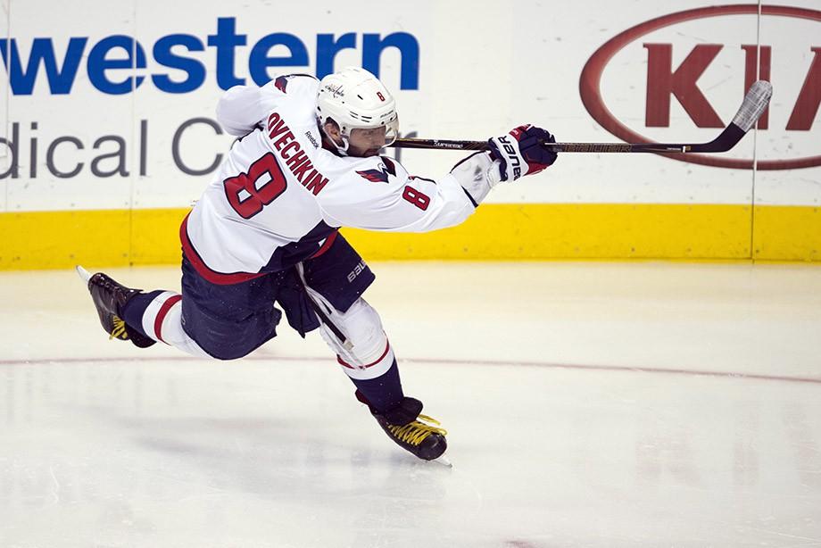 Овечкин забросил три шайбы настарте сезона НХЛ