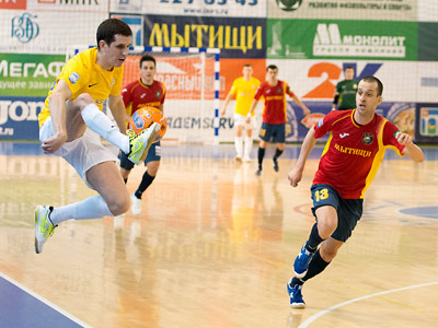 22-й тур чемпионата России по мини-футболу