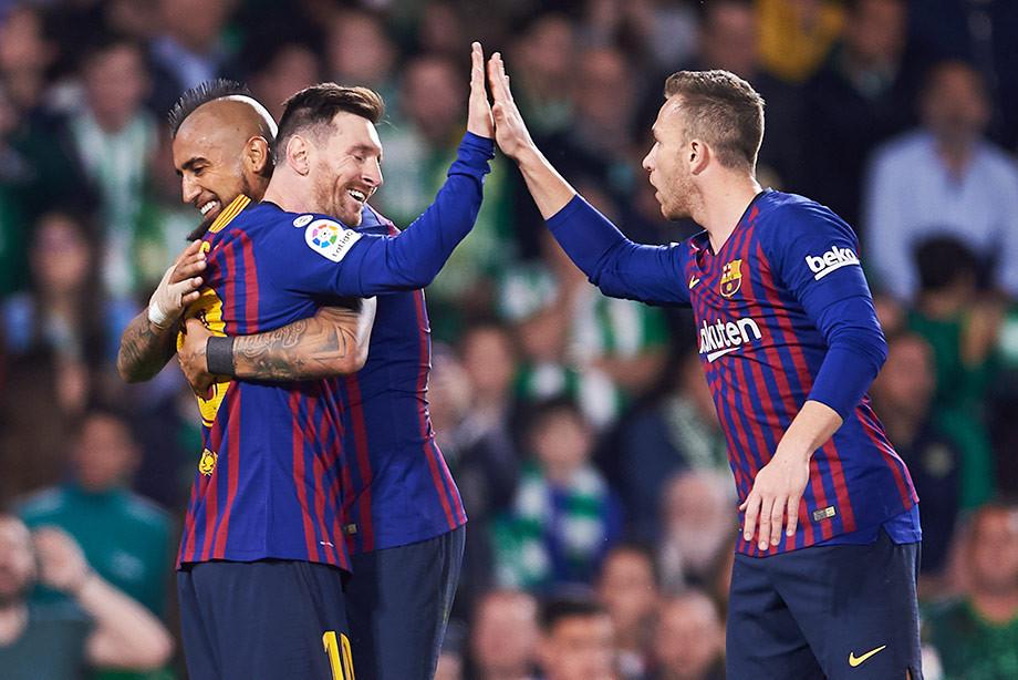 Сразу три удара Месси попали в топ. Видео лучших голов тура в Испании