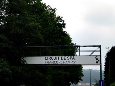 Репортаж с этапа Мировой серии «Рено» в бельгийском Спа