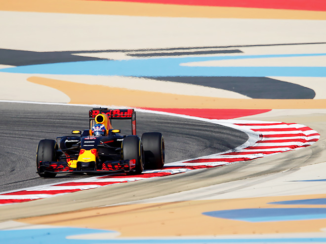 Стартовая решётка Гран-при Бахрейна Формулы-1
