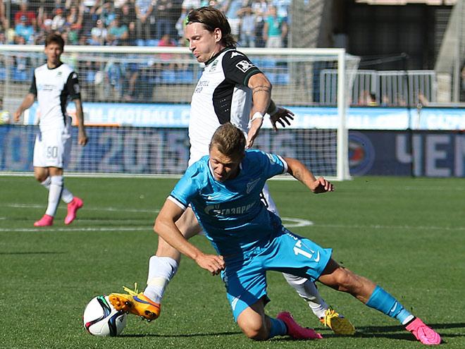 «Зенит» — «Краснодар». Обзор матча — 0:2