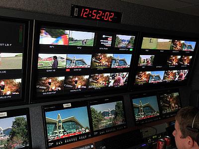 Аппаратная телекомпании Sky Sport