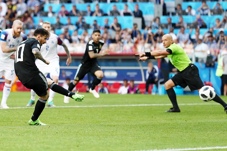 Аргентина — Исландия — 1:1