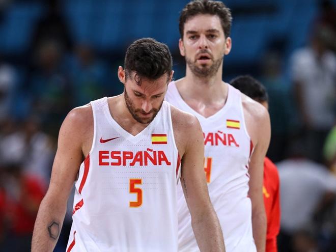 Сборная Испании проиграла бразильцам на Олимпиаде в Рио-де-Жанейро