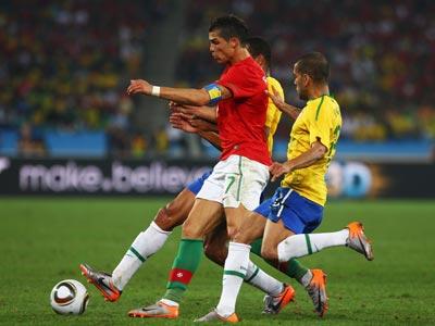 ЧМ-2010: Бразилия – Португалия – 0:0