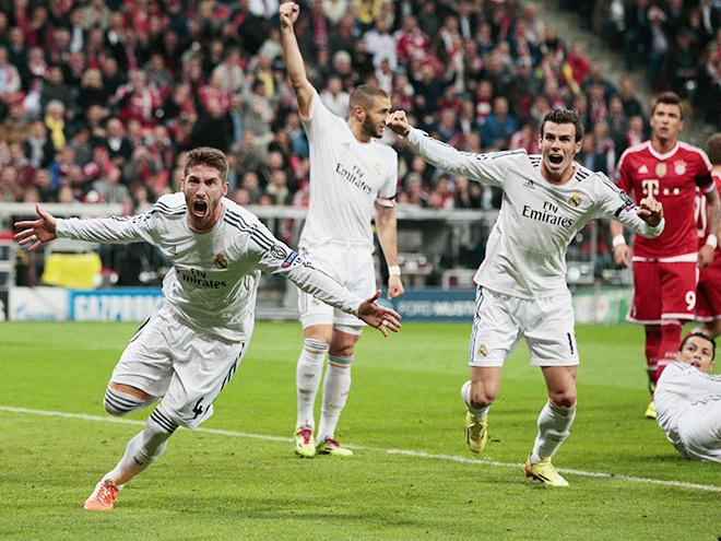 Бавария 4 0 реал
