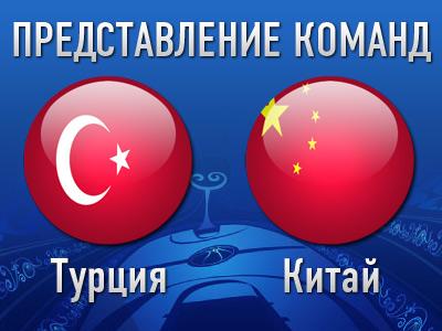 Карта мира. Группа С. Турция, Китай