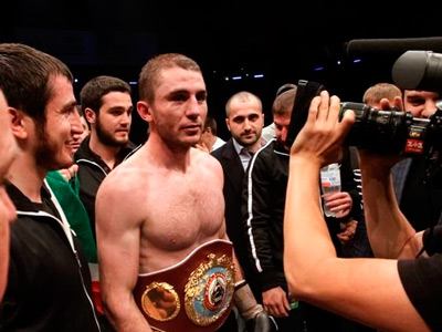 Байсангуров защитил титул чемпиона мира WBO