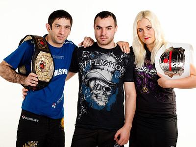 Михаил Малютин, Виктор Данишевский и Яна Куницкая