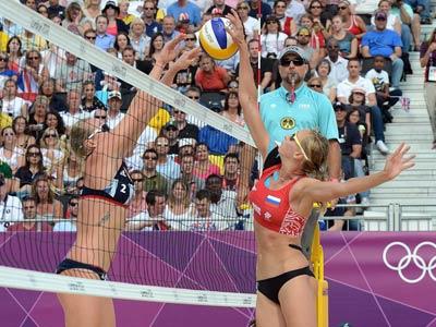 Лондон-2012. Пляжный волейбол. Екатерина Хомякова