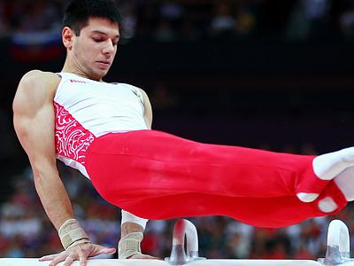 Лондон-2012. Спортивная гимнастика. Гарибов