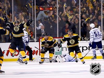 «Бостон» - «Торонто» - 5:4 ОТ. Матч № 7