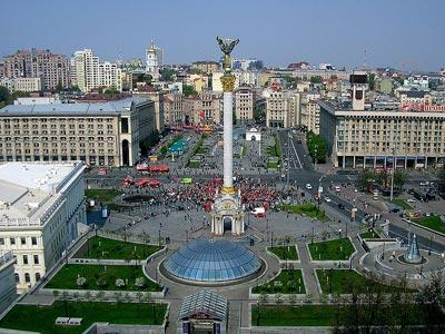 Вид на Майдан Незалежности