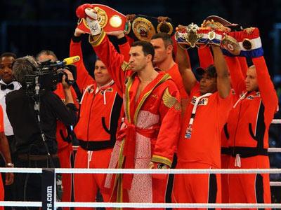 Следующий бой Кличко-младший проведёт в этом году