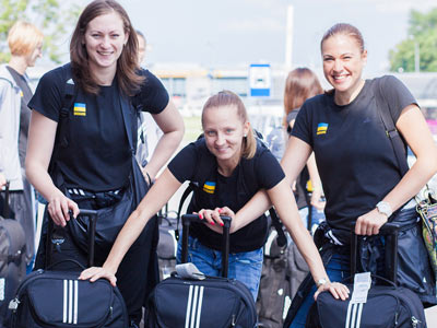 Женская сборная Украины стартует на чемпинате Евро
