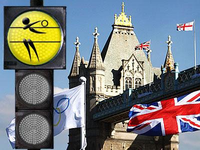 """""""Лондонский светофор"""". Тяжёлая атлетика"""