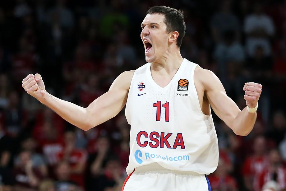Баскетболисты ЦСКА победили германский «Бамберг» вматче Евролиги