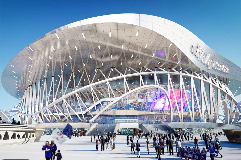 «СКА Арена» — космос! Эксклюзив с главной стройки в истории хоккея