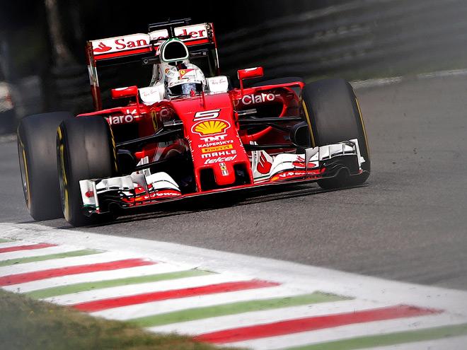 Тренировки Гран-при Италии