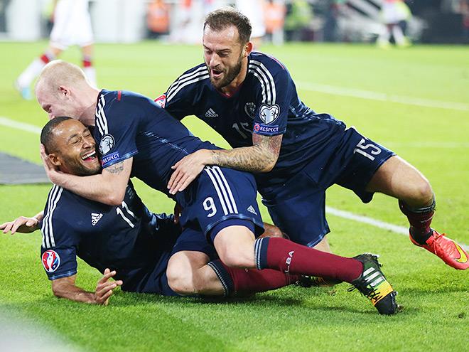 Германия обыграла Шотландию