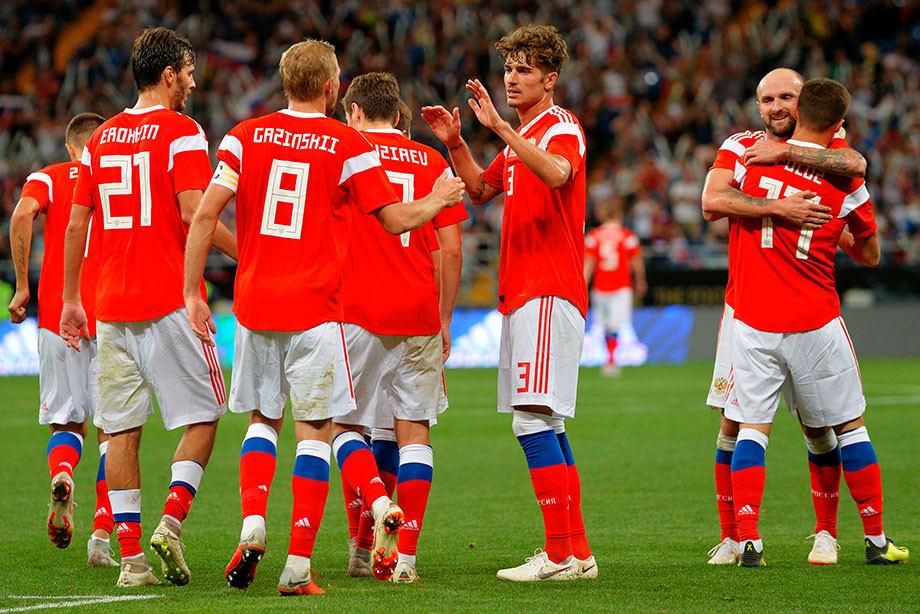 ФФУ отоварищеском матче сРФ: «Sport for all» работает на Российскую Федерацию