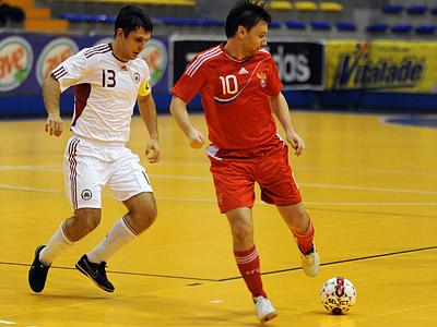 Россия стартовала на мини-футбольном Евро, разгромив Турцию 5:0