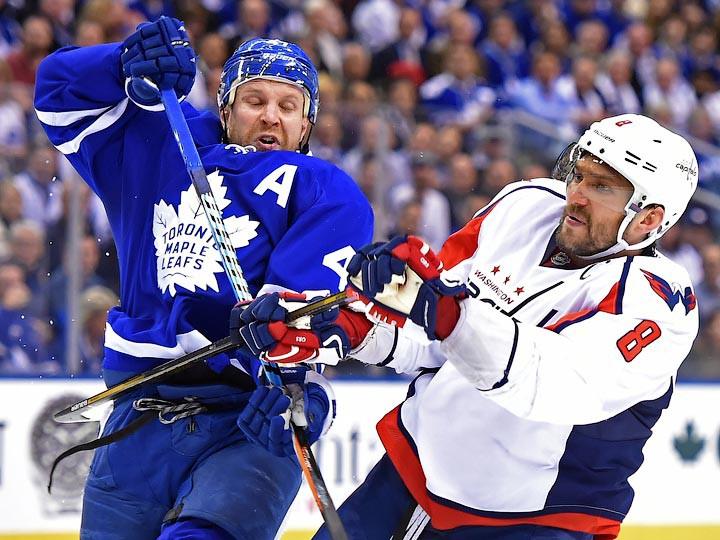 Обзор НХЛ. 19.04.2017. «Вашингтон» сравнял счёт, «Анахайм» идёт дальше