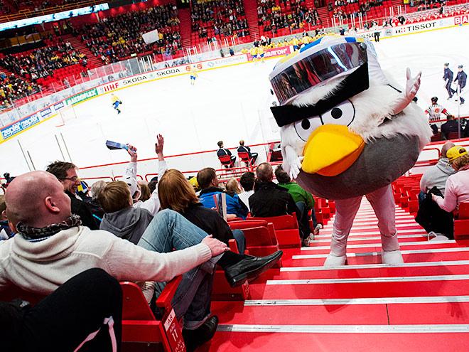Лучшие талисманы ЧМ по хоккею